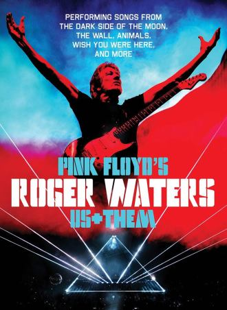"Roger Waters - Cartaz da turnê ""Us + Them"""