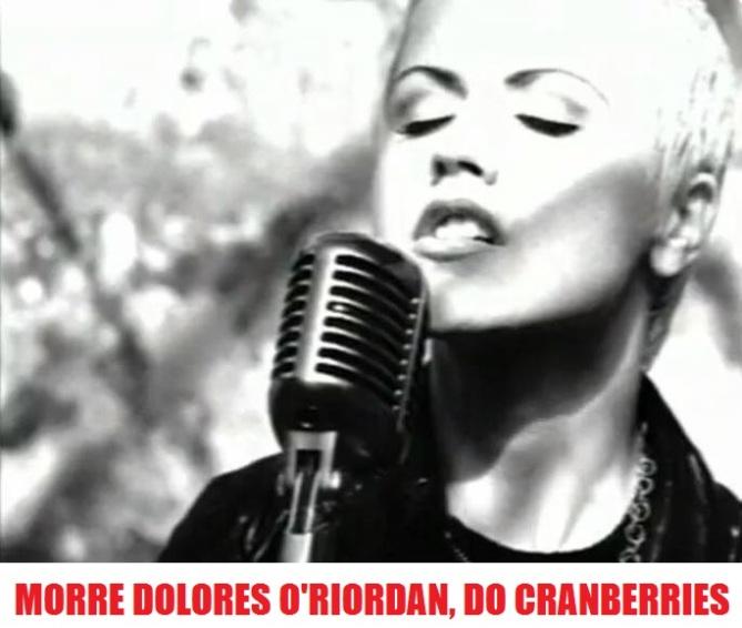 Dolores O'Riordan, do Cranberries - Foto: Divulgação