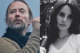 Thom Yorke, do Radiohead, e Lana Del Rey - Fotos: Divulgação