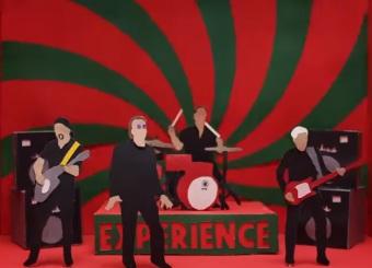 """U2 - Foto: Reprodução de cena de clipe da faixa """"Get Out Of Your Own Way"""""""