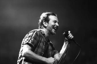 Eddie Vedder, do Pearl Jam - Foto: Divulgação