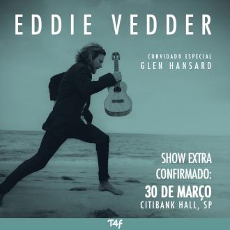 Eddie Vedder em SP - Show Extra - Reprodução de cartaz do show
