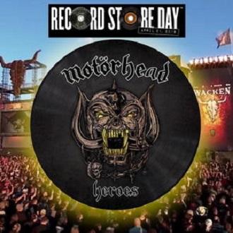 """Motorhead - Reprodução do picture disc """"Heroes"""""""