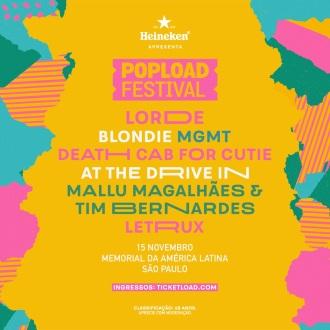 Popload Festival 2018 - Reprodução do Cartaz