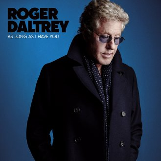 "Roger Daltrey - Reprodução da capa do disco ""As Long As I Have You"""