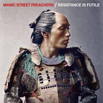 """Manic Street Preachers - Reprodução da capa do disco """"Resistance is Futile"""""""