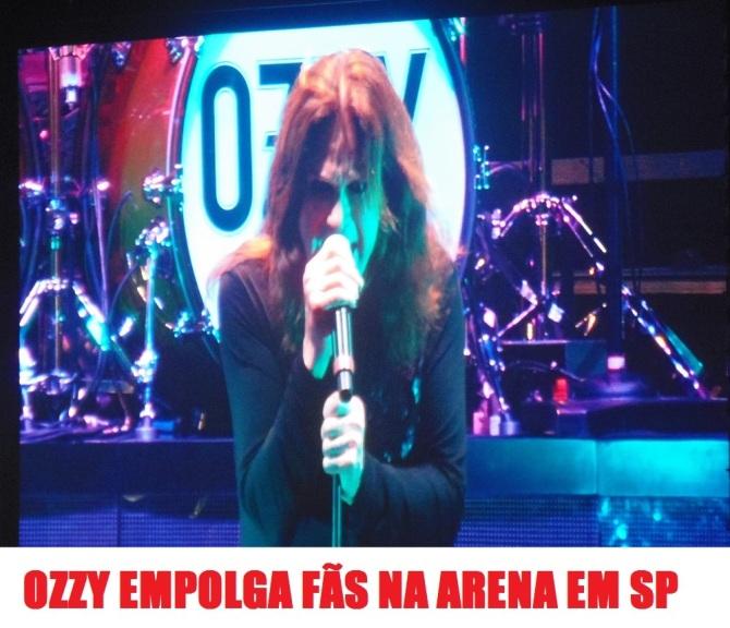 Ozzy Osbourne em SP - Foto: Flavio Leonel/Roque Reverso