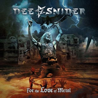 Dee Snider - Reprodução da capa do disco !For The Love Of Metal""