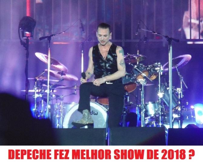 Depeche Mode em São Paulo - Foto: Flavio Leonel/Roque Reverso