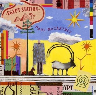 """""""Egypt Station"""" - Reprodução da capa do novo disco de Paul McCartney"""