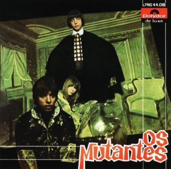 """""""Os Mutantes"""" - Reprodução da Capa do disco de estreia"""