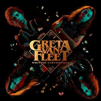 """When The Curtain Falls"" - Reprodução da capa do single do Greta Van Fleet"