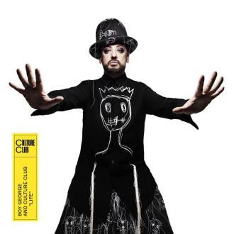 """Boy George e Culture Club - Reprodução da capa do disco """"Life"""""""