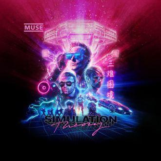 """Muse - Reprodução da capa do disco """"Simulation Theory"""""""