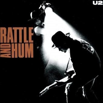 'Rattle and Hum' - Reprodução da capa do disco do U2