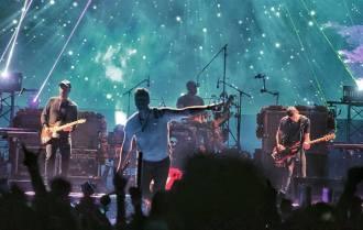 Coldplay - Foto: Divulgação Facebook