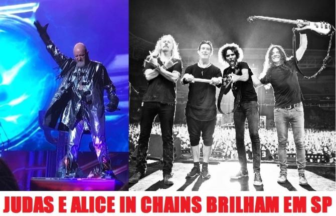 Judas Priest e Alice in Chains em SP - Foto: Divulgação