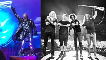 Solid Rock - Judas Priest e Alice in Chains - Foto: Montagem com fotos do Instagram