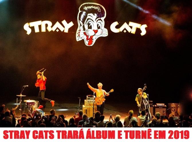 Stray Cats - Foto: Divulgação