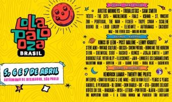 Lollapalooza 2019 - Cartaz de Divulgação