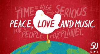 Woodstock - Banner comemorativo