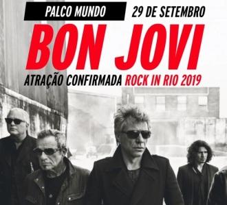 Bon Jovi - Foto: Divulgação Rock in RIo