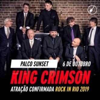 King Crimson - Foto: Divulgação Rock in Rio