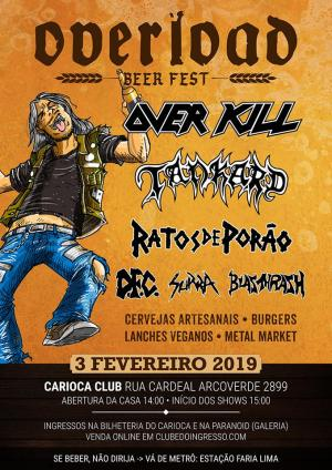 Overload Beer Fest - Cartaz do Evento