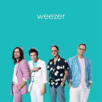 """Weezer - Reprodução da capa do """"Teal Album"""""""