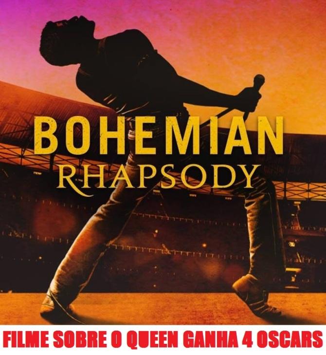 Bohemiam Rhapsody - Cartaz de Divulgação