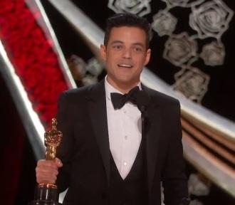 Rami Malek na entrega do Oscar - Foto: Reprodução do Facebook