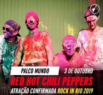 Red Hot - Foto: Reprodução de vídeo do Rock in Rio