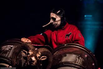 Chris Fehn - Foto: Divulgação Slipknot