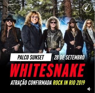 Whitesnake - Foto: Divulgação Rock in Rio