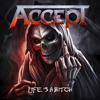 Accept - Life's a Bitch - Capa