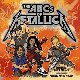 Reprodução da capa do livro infantil do Metallica
