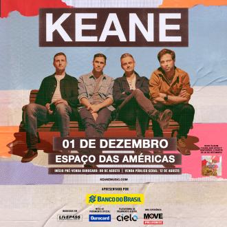 Keane em SP - Cartaz de Divulgação
