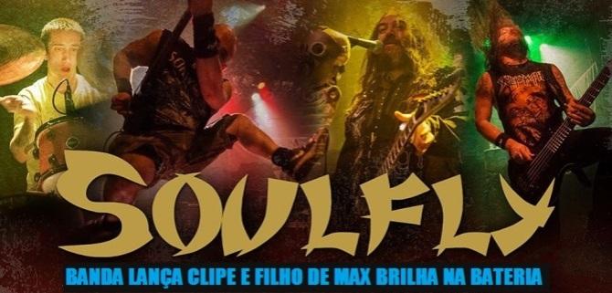 """O Soulfly lançou oficialmente seu EP digital """"Live Ritual NYC MMXIX"""" e presenteou os fãs nesta sexta-feira, 22 de maio, com o clipe da música """"The Summoning"""". No vídeo, além da já tradicional vibrante apresentação da banda liderada pelo brasileiro Max Cavalera, chama a atenção a performance cheia de energia de Zyon Cavalera, filho do fundador, ex-vocalista e guitarrista do Sepultura."""